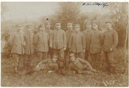 Carte Photo Militaire Allemande 1918 - 2 Scans - Guerre 1914-18