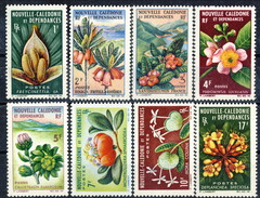 Nouvelle Caledonie 1964-65 Serie N. 314-321 MNH Cat. € 43.50 - Nuova Caledonia