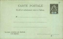 COTE D'IVOIRE - Entier Sur Carte Vierge Au Type Groupe - P21112 - Briefe U. Dokumente