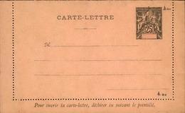 GUADELOUPE - Entier Sur Carte Lettre Vierge Au Type Groupe - P21113 - Lettres & Documents