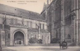 France Le Mans Cathedrale Porte Meridionale Et Transept Sud - Le Mans