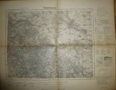 Karte Des Deutschen Reiches 1-cm-Karte - 437 Gotha - Umdruckausgabe! 1936 - Topographische Karten