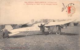 54 - MEURTHE ET MOSELLE / Nancy Jarville - Aviation - Kimmerling Au Départ Sur Son Monoplan Sommer - Nancy