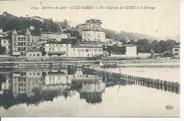 1114 - L'ILE-BARBE - VUE GENERALE DE CUIRE ET LE BARRAGE - Francia