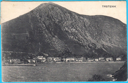 TRSTENIK Near Dubrovnik  ( Croatia ) * Travelled 1921. * Croazia Kroatien Dalmatia Dalmazia - Croatia