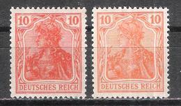 Reich Deux Nuances Du N° 120 Neuf ** Michel N° 141 - Allemagne