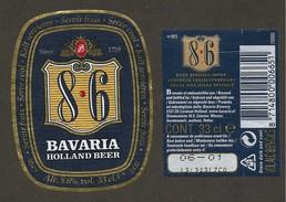 OLANDA - Etichetta Birra Beer Bière BAVARIA - Bier