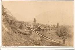SUISSE -CANTON De BERNE D'interlaken - MEYRINGEN- PHOTO 11 X 16,5 - Photographs