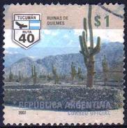 ARGENTINA 2007 1 V   Used  Cactus - Cactussen