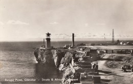 Gibraltar - Europa Point - Straits And African Continent - Phare Lighthouse - Gibraltar