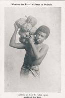 Océanie - Archipel Des Fidji - Garçon Cueillette Fruit - Missions 6 Rue De Bagneux Paris VI - Fiji