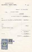 Documento Pagamento Quietanza D'affitto. - Italia