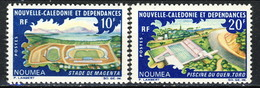 Nouvelle Caledonie 1968  N. 338-339 MNH Cat. € 6.90 - Nuova Caledonia