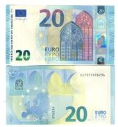 Italia 20 € SE S004G2 Draghi Q.fds Da Mazzetta Cod.€.249 - EURO