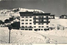 38 ISERE 1964 Carte Photo L'ALPE D'HUEZ 1860m BEL ALPE Hotel STATION DE SKI Maison De Famille ROBY à BOURG D'OISAN - Otros Municipios