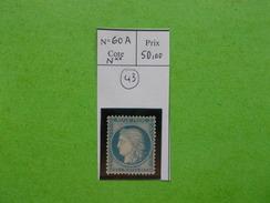 TIMBRE.CERES.N°60A.N** - 1871-1875 Ceres