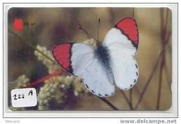 Telefonkarte PAPILLON Butterfly SCHMETTERLING Vlinder Telecarte Oman (222a) - Vlinders
