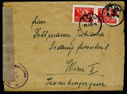 A4438) Jugoslawien Yugoslavia Brief Von Ptuj 21.7.47 Mit Inhalt Und Zensur - 1945-1992 Sozialistische Föderative Republik Jugoslawien