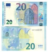 Italia 20 € SB S009 A5 Draghi Q.fds Da Mazzetta Cod.€.250 - EURO