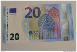 20 EURO SPAIN DRAGHI V001A1 UNC - 20 Euro
