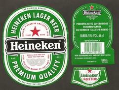 OLANDA - Etichetta Birra Beer Bière HEINEKEN - Bière