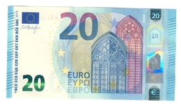 Italia 20 € SA S009C6 Draghi Q.fds Da Mazzetta Cod.€.251 - EURO