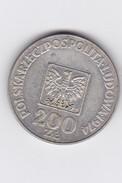 200 ZLOTY - 1974 - - Pologne