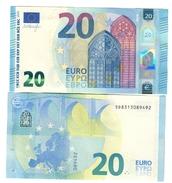 Italia 20 € SD S014 Draghi Q.fds Da Mazzetta Cod.€.253 - EURO