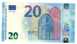 Italia 20 € SE S014F2 Draghi Q.fds Da Mazzetta Cod.€.254 - EURO