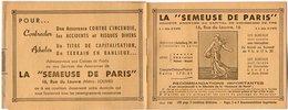 VP7523 - Livret De La Société La ¨ SEMEUSE DE PARIS ¨ à PARIS Rue Du Louvre - Bank & Insurance