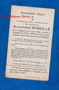Faire Part De Décés Avec Photo - Alexandre SOREILLE - Né à ANGLEUR En 1902 , Décédé à CHANXHE Le 8 Mai 1928 - Décès