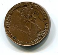 1939 Canada Royal Visit Medal - Royal / Of Nobility