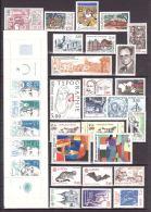 FRANCE - 1986 - Année Complète - Timbres, Carnet Et Feuillet Neufs **