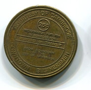 City Of Cambridge Ontario Canada Parking/Transit Token - Monetary /of Necessity