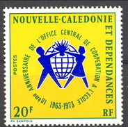 Nouvelle Caledonie 1973 N. 389 MNH Cat. € 2.50 - Nuova Caledonia