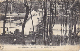 Le Conquet ,les Bois Et L'étang De Kerjean - Le Conquet
