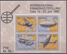 NORUEGA 1979 HB-3 NUEVO - Hojas Bloque