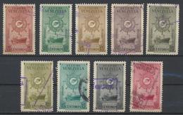 °°° VENEZUELA - Y&T N°250/51/52/53/54/55/56/57/60 PA - 1948 °°° - Venezuela
