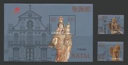 Macao Macau 2013 Yvert 1647/1648 ** + Bloc 234 ** Noel Christmas Navidad Natale Natal Emission Conjointe Avec Groenland