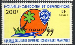 Nouvelle Caledonie 1977 N. 413 MNH Cat. € 12 - Nuovi