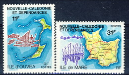 Nouvelle Caledonie 1979 Serie N. 426-427 MNH Cat. € 3.30 - Nuovi