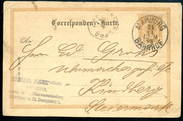 Ganzsache, Correspondenz-Karte, Marburg, 24.11.1898, Bahnhof,  Ilger, Postgasse 1 - Slowenien
