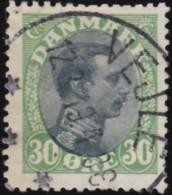 DENMARK - Scott #111 King Christian X / Used Stamp - 1913-47 (Christian X)
