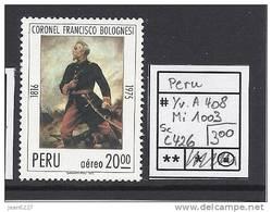 Peru - Pérou - Bolognesi - Yv A408 - Mi 1003 - Sc C426 - MNH - Postfrisch - Neuf ** - Pérou