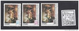 Peru - Pérou - Junin - Ayacucho - Yv A393-395 - Mi 985-87 - Sc C400,403,404 - MNH - Postfrisch - Neuf ** - Pérou