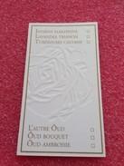 MAISON LANCOME 2 CARTES - Cartas Perfumadas