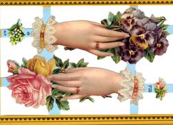 MAINS BIJOUX CORBEILLES DE FLEURS JARDIN AMOUR - Fleurs