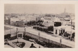 Uruguay Montevideo Birds Eye View From Roof Of Park Hotel Real P