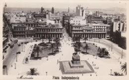 Uruguay Montevideo Plaza Independencia Real Photo