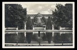[021] Potsdam, Schloss Sanssouci, Terassen, Goldfischteich, ~1930 - Potsdam